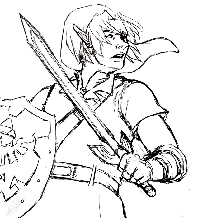 free zelda online coloring pages - photo#23